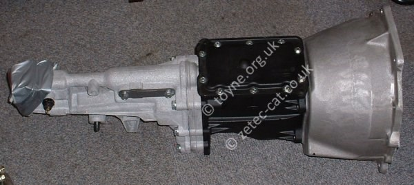 BGH Gearbox with Aluminium Bell Housing