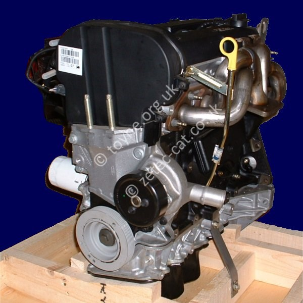 New engine as collected